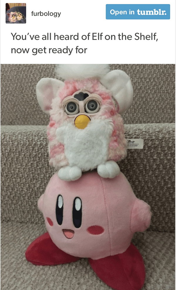 Furby On Kirby