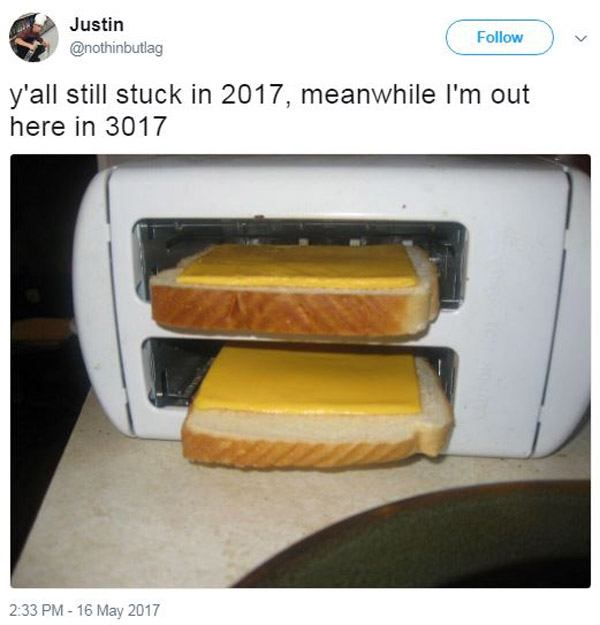 Grilled Cheese Living in 3017