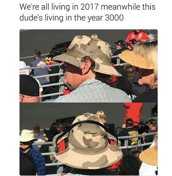 People Who Live In The Future
