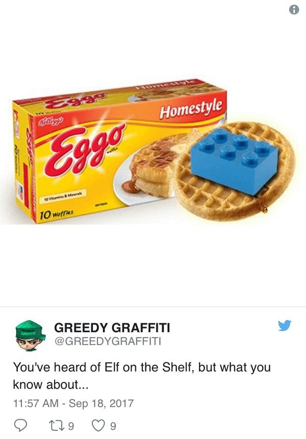 Lego On Eggo