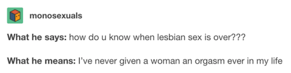 Tumblr On Being A Lesbian