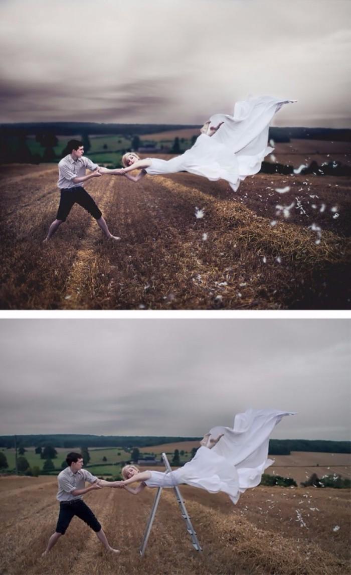Reality Behind Photo Levitation