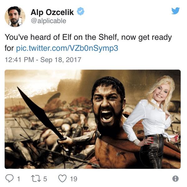 Parton On A Spartan