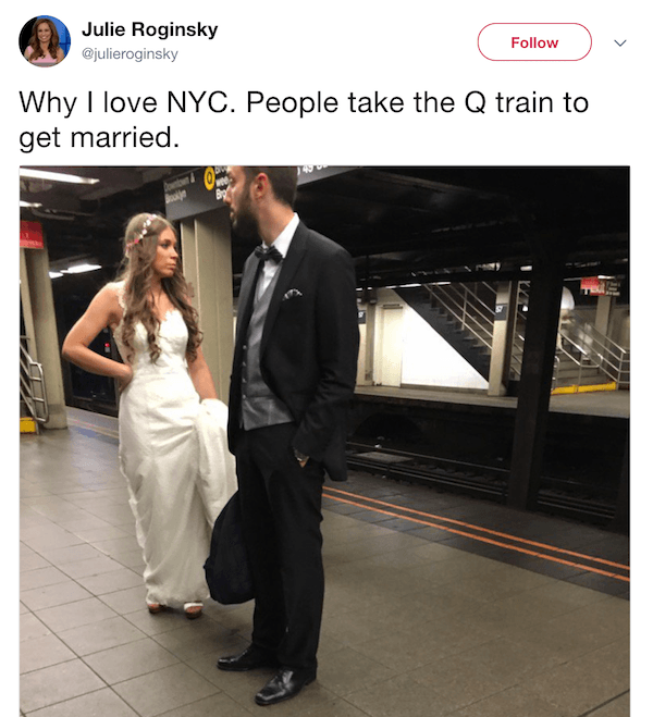 True New York Tweets Q Train