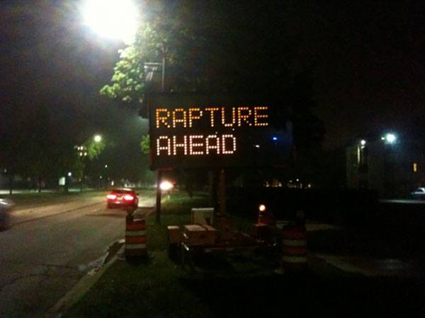 Rapture Ahead