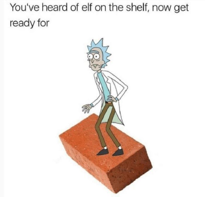 Rick On A Brick
