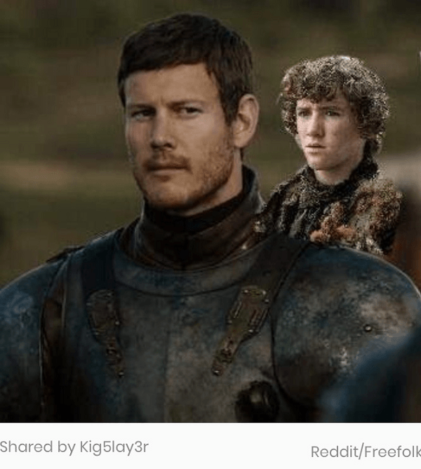 Rickon On Dickon