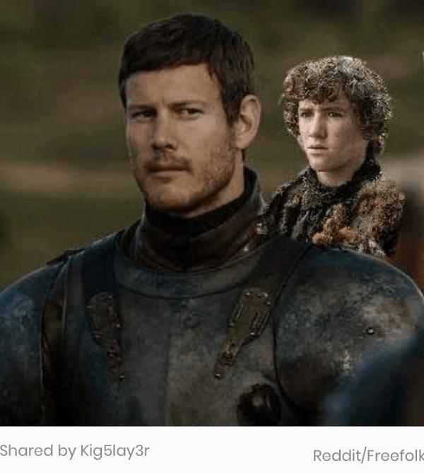 Rickon On Dickon