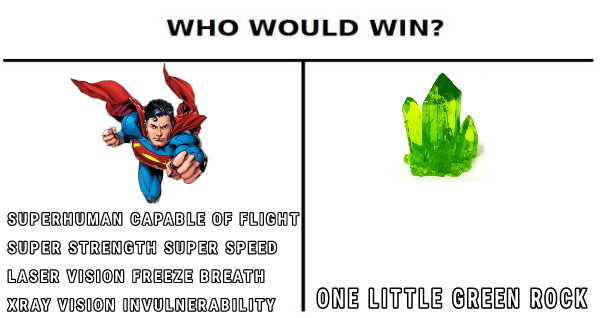 Superman Kryptonite