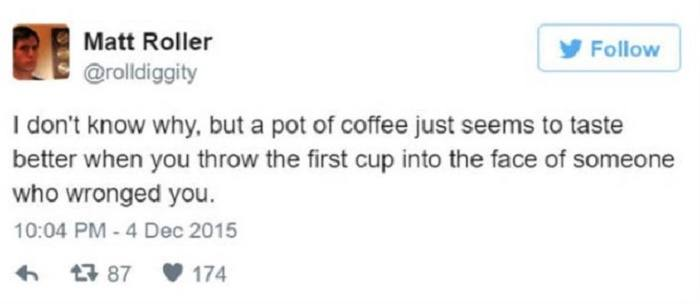 Throw The First Cup