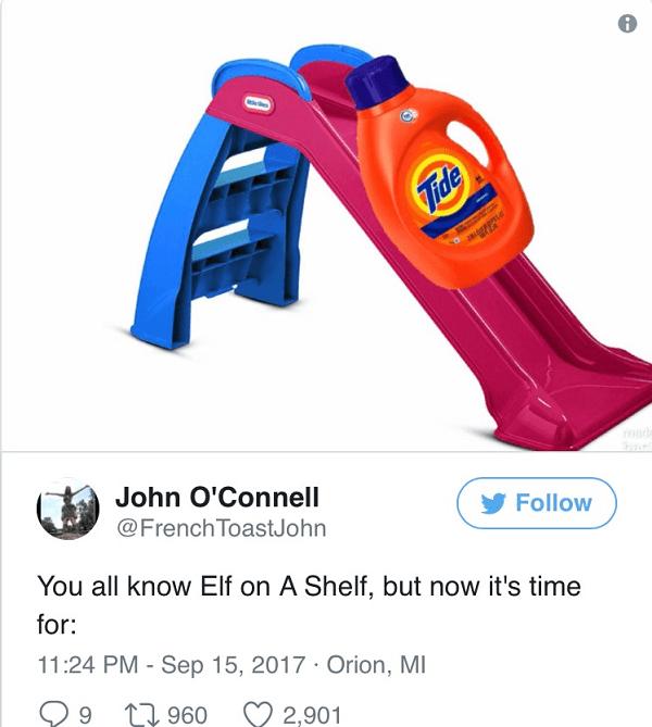 Tide On A Slide