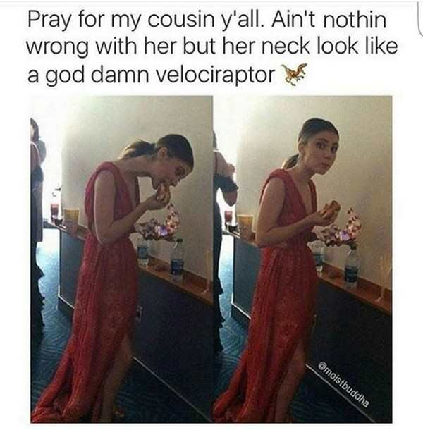 Need To Pray Velociraptor