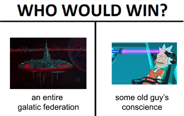 Who Would Win Rick And Morty