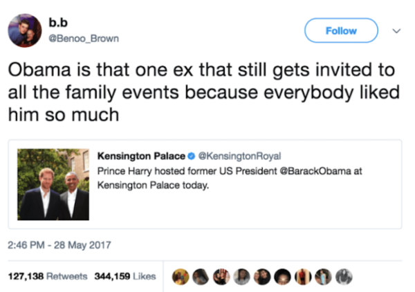 Obama Ex 100K Retweets