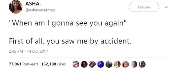 Accidental Sighting