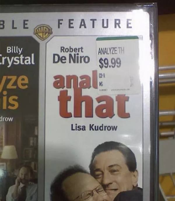 Anal That