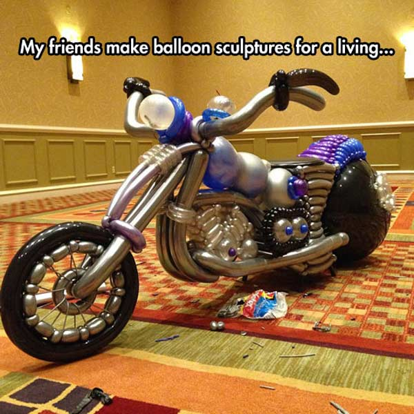 Balloon Bike