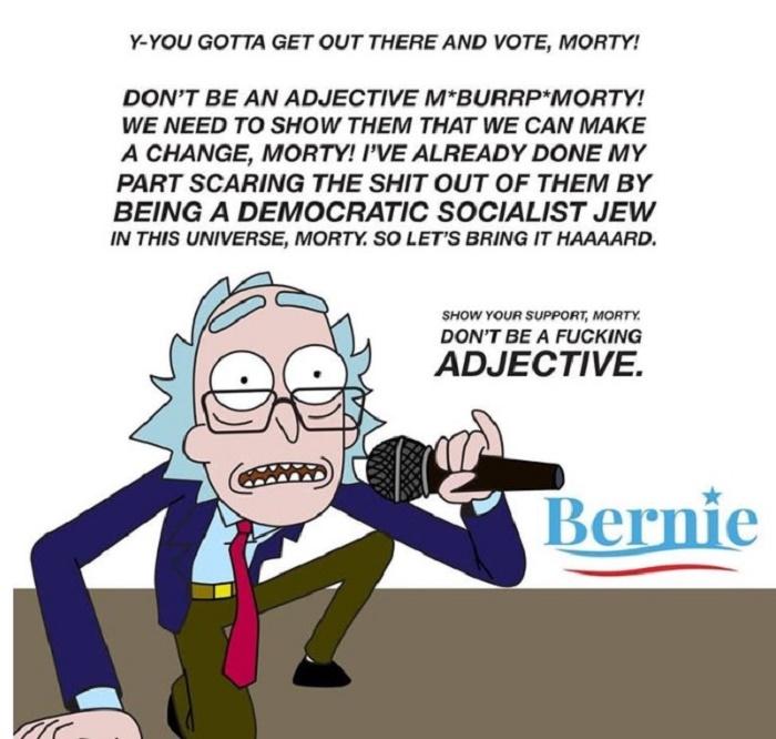 Bernie Rick Funny Memes