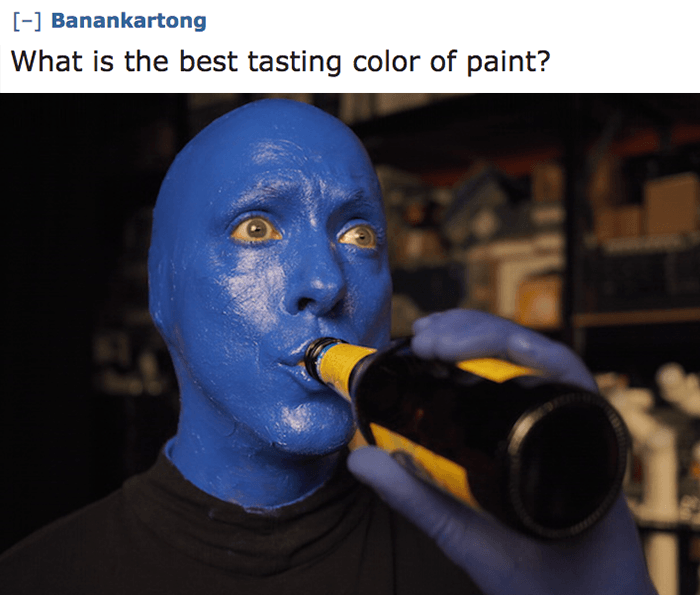 Best Tasting Paint