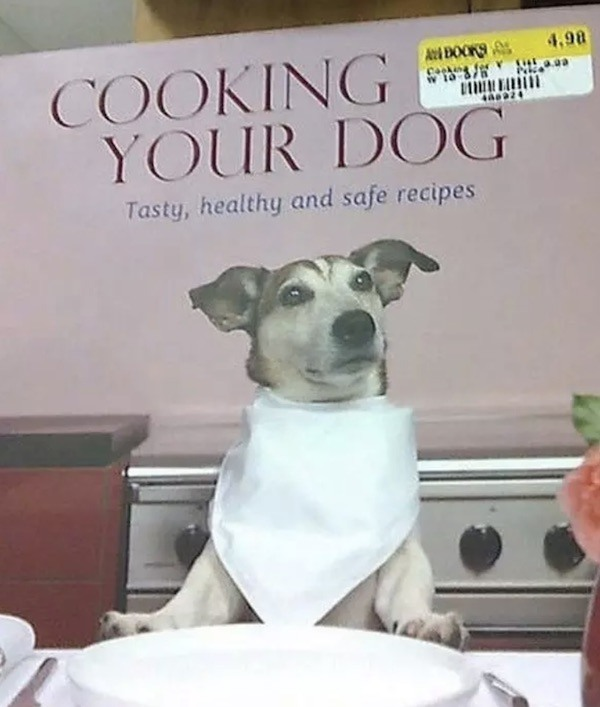 Cooking Dog