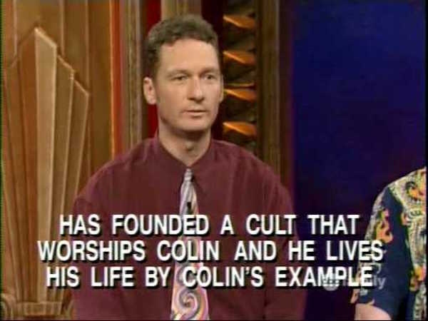 Cult Of Colin