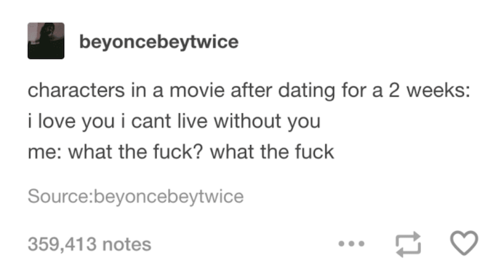 Dating Two Weeks
