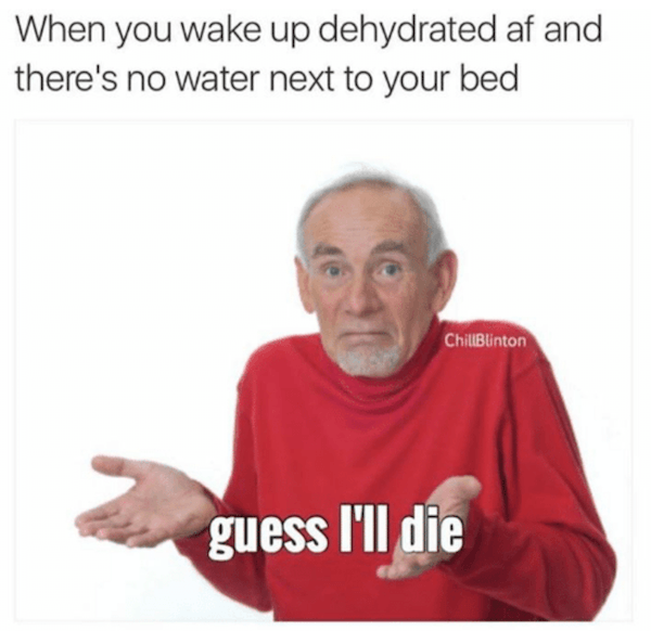 Dehydrated