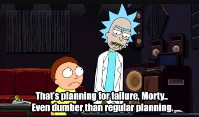 Dumb Planning