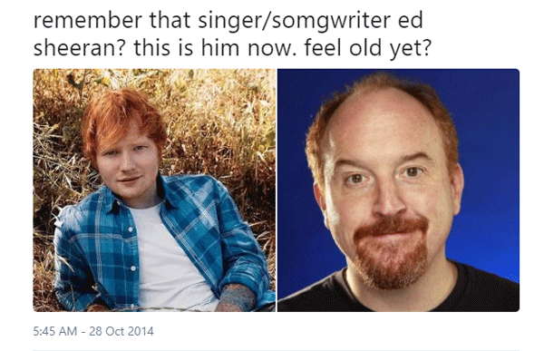 Ed Sheerhan Feel Old Yet