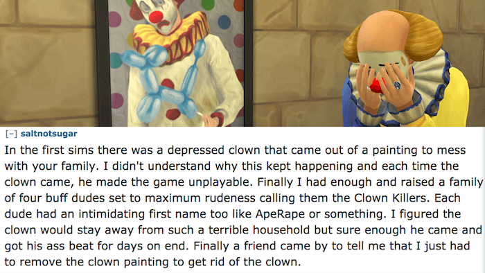 Evil Clowns Sims
