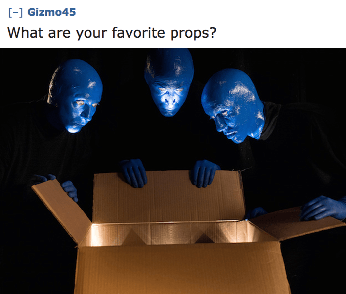 Favorite Props