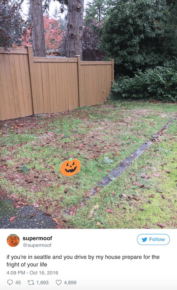 Frightning Lawn