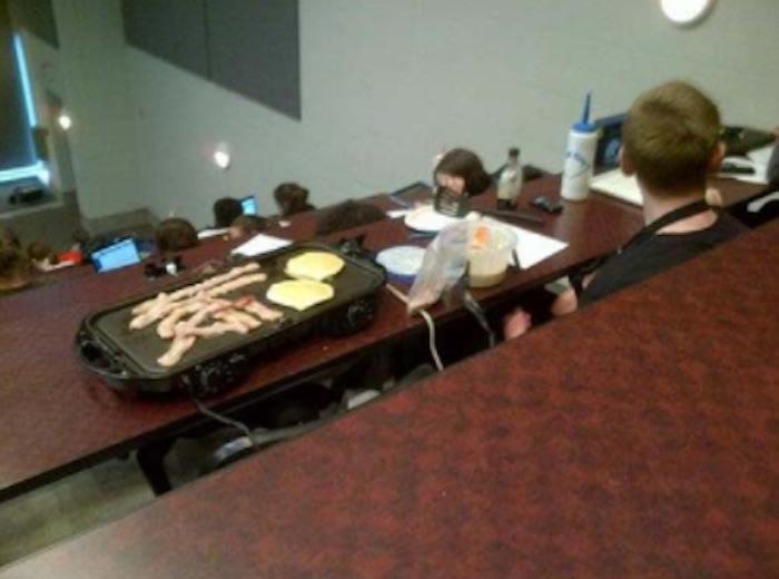 Funny Classroom Breakfast