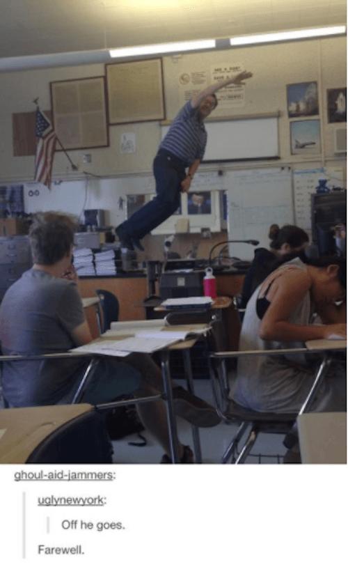 Funny Classroom Farewell