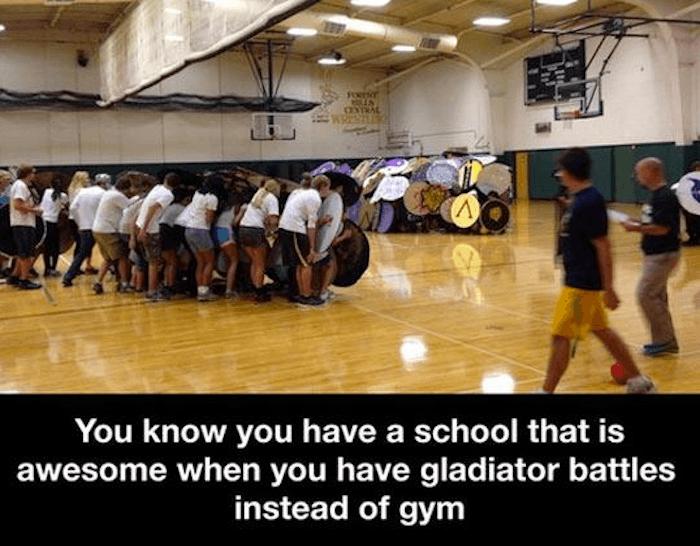 Gladiator Gym