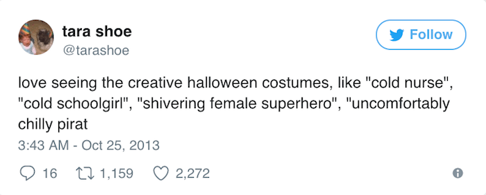 Halloween Tweets Creative Costumes