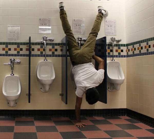 Handstand Pee