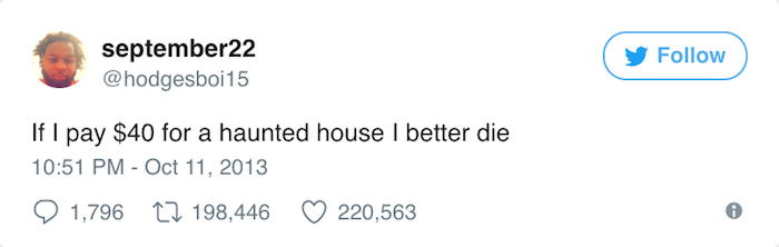 Haunted House Death