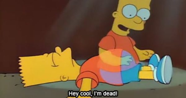 Bart Simpson Quotes Hey Cool Dead