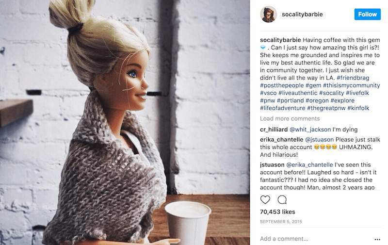 Hilarious Barbie Instagram Accounts