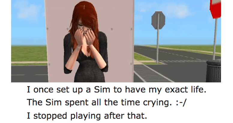 Horrible Sims Stories