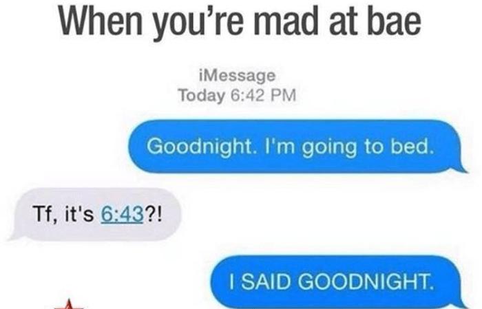 I Said Goodnight