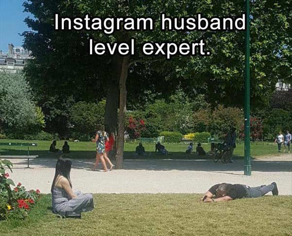 Instagram Husband