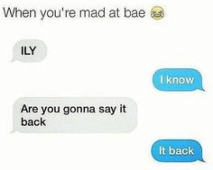 It Back
