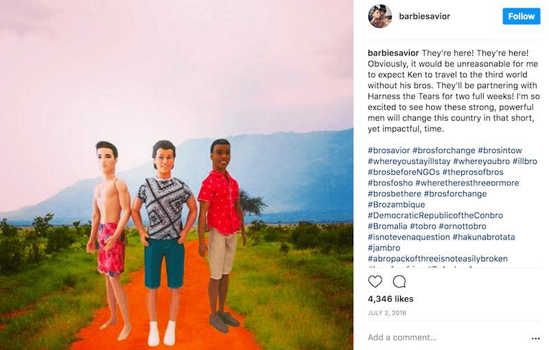 Ken Visiting Africa