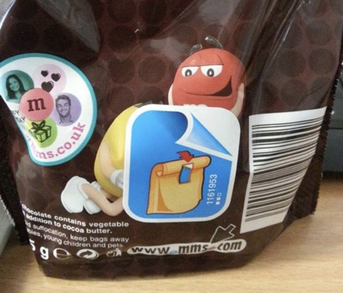 funny sticker placements m and ms