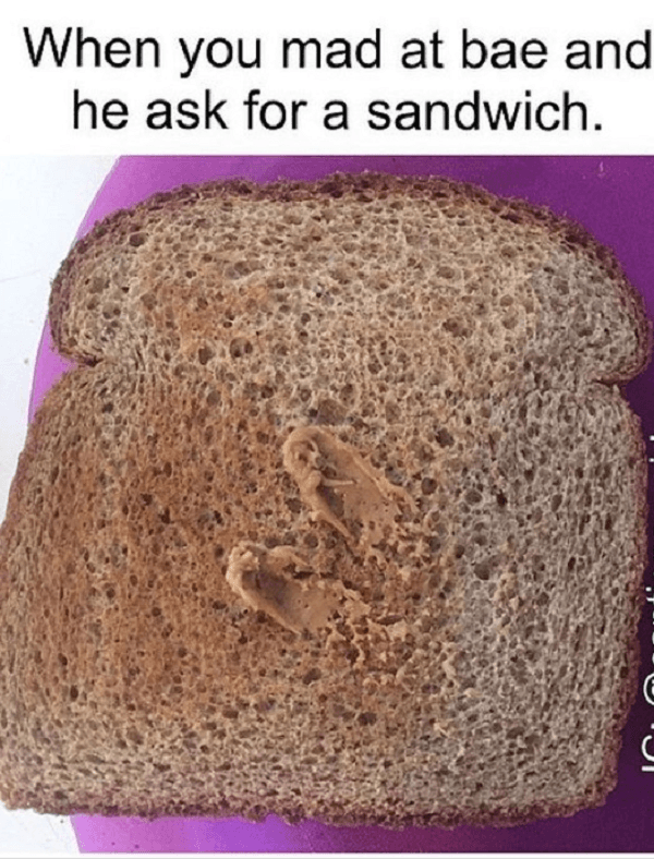 Mad At Bae Sandwich