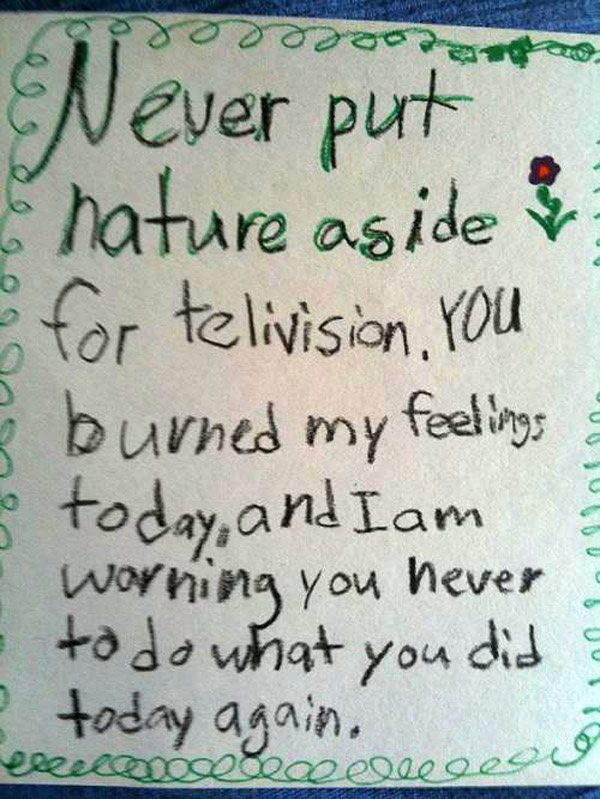 Nature Vs Tv