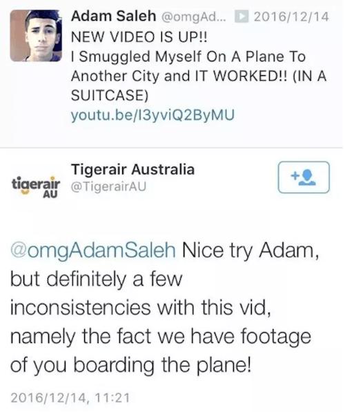 Nice Try Adam