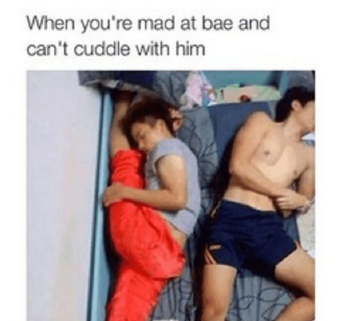 No Cuddling